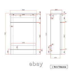 1700mm wall Hung Grey Vanity 2 draw Unit Tall Storage BTW Unit Toilet pan suite