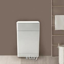 Bathroom Vanity Unit Basin Sink Wall Hung Floor Standing Toilet Cabinet White
