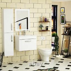 Bathroom Vanity Unit Cabinet Furniture Storage Toilet Basin Sink Cabinet White