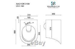 Brand New Modern Wall Hung D Shape Ceramic Round Rimless Toilet