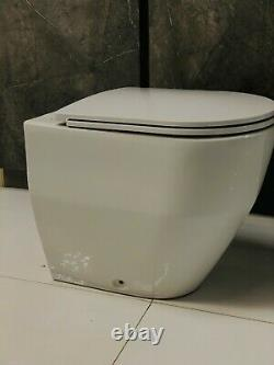 Brand new Ex display Laufen rimless wall hung toilet