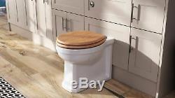 Cambridge Back to Wall Toilet Unit BTW Traditional Bathroom Pan