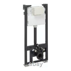 Crosswater 1.14m Height Wall Hung WC Support Frame WCF118X50+