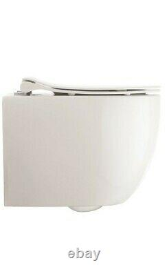Crosswater Glide 11 Wall Hung WC/Seat Short Projection RRP 560 Ex Display
