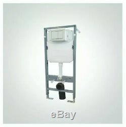 @ Dolphin DB580 Standard Toilet WC Wall Hung Concealed 1140mm Cistern Frame 69