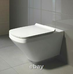 Duravit Durastyle Square Bathroom Wall Hung Mounted Toilet 2552090000