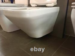 Duravit Durastyle wall hung toilet and seat