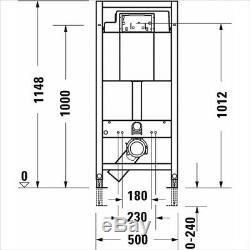 Duravit Durasystem Toilet Frame Basic 990mm WD1008000080