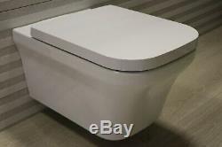 Duravit P3 Comforts Wall Hung Rimless WC & soft close seat RRP £432 Ex-Display