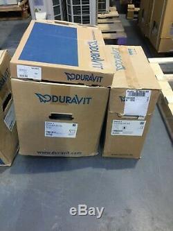Duravit Starck 3 Floor Standing Toilet WC Box Set