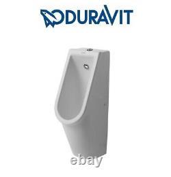 Duravit Starck 3 Urinal Ceramic Wall Hung visible inlet rimless 082625