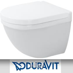 Duravit Starck 3 Wall Hung Compact Wc Toilet With Soft Closing Seat