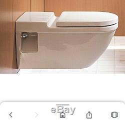 Duravit Starck 3 Wall Hung Toilet
