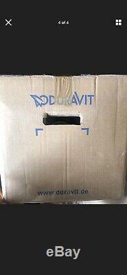 Duravit Wall Hung Toulet Matt Black
