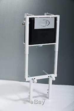 Ella Wall Hung Toilet including Soft Close Seat + Frame Option