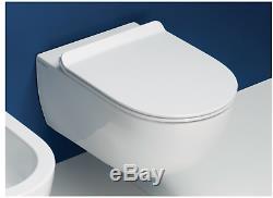 Flaminia App Wall Hung Pan Ap118 & Soft Close Seat Qkcw03 Toilet Wc