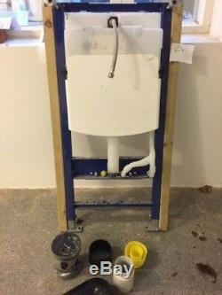 GEBERIT 1,0 wall hung toilet frame. Unused but not in original packaging