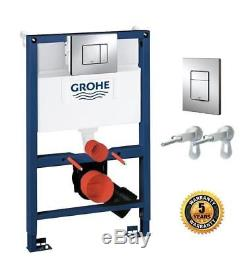 GROHE 38773000 Frame Rapid Sl 3 1 Set Wall-Hung Toilet 0.82 m wall-Flush Plate