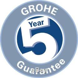 GROHE 38773000 Rapid Sl 3-In-1 Set For Wall-Hung Toilet, 0.82 M Wall Brackets
