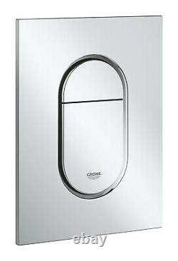 GROHE RAPID SL WC FRAME + ARENA SLIM FLUSH PLATE + WALL BRACKETS 3in1SET