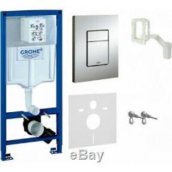 GROHE Rapid SL Fresh 5in1 Toilet CISTERN WC FRAME SKATE COSMOPOLITAN 38827000