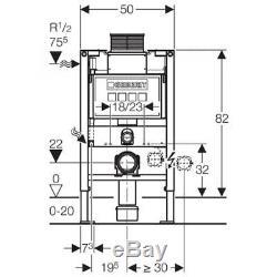 Geberit 111.260.00.1 Duofix Wall Hung WC Toilet Frame Kappa UP200 Cistern 820mm