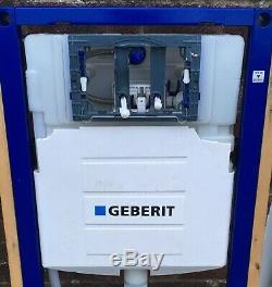 Geberit Duofix Wall Hung WC Toilet Frame Sigma Cistern 1.12m Smyle White Pan