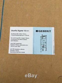 Geberit Duofix frame for wall-hung WC, 112cm, with Sigma concealed cistern