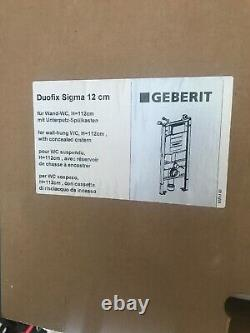 Geberit Duofix frame for wall-hung WC, H112, with Sigma cistern 8 cm (UP720)