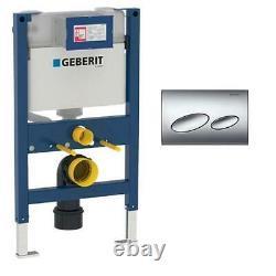 Geberit Kappa Duofix 820mm Wall hung Mounting WC UP200 Cistern & Button