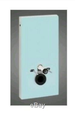 Geberit Monolith Module for Wall Hung WC 101cm Mint Glass Module only no cistern