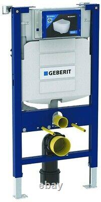 Geberit Sigma Up320 Cistern 0.98m Concealed Wc Frame Rimless Wall Hung Toilet