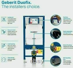 Geberit Sigma Up320 Cistern 1.12m Concealed Wc Frame Rimless Wall Hung Toilet
