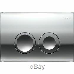 Geberit Up100 Cistern Frame Delta 21 + Rak Ceramics Resort Wall Hung Toilet Pan