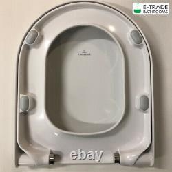 Geberit Up100 Wc Frame +delta 51 Plate +villeroy&boch Subway Soft Closing Toilet