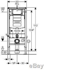Geberit Up320 Sigma Frame+ Roca Gap Rimless Wall Hung Toilet Pan Soft Close Seat