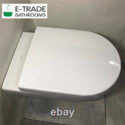 Geberit Up720 Slim Frame+sigma Flush Plate Villeroy Boch Subway Wall Hung + Seat