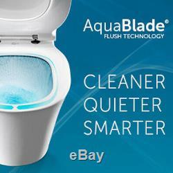 Geberit Up720 +ideal Standard Wall Hung Wc Tesi Aquablade Toilet +soft Clos Seat