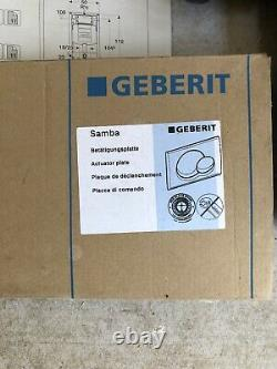 Geberit concealed cistern And Wall Hung Toilet Pan. Buyer Collect DE4
