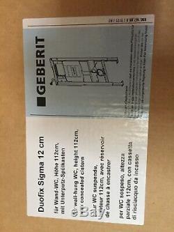 Geberit wall hung toilet frame 112cm