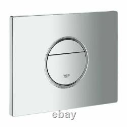 Grohe 0.82m Concealed Cistern Wc Frame Rak Ceramics Rimless Wall Hung Toilet Pan
