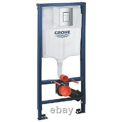 Grohe Rapid SL 1.13m 3 in 1 Set Support Frame for Wall Hung WC