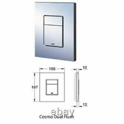 Grohe Rapid Sl Fresh Concealed Wall Hung Toilet Cistern Wc Frame Flush Plate