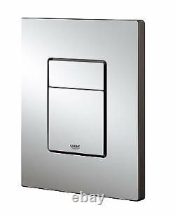 Grohe Rapid Sl Wc Frame + Rimless Wall Hung Toilet Pan With Slim Soft Close Seat