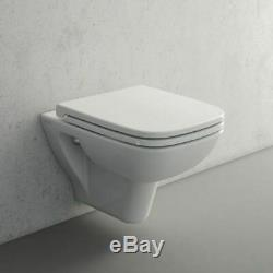 Grohe Rapid Sl Wc Frame + Vitra S20 Wall Hung Toilet Pan & Soft Close Seat New