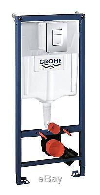 Grohe Toilet frame 3 In1 Pack Wall H Cistern Frame Button 38772001 / 1.13m