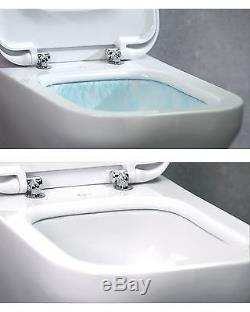 Grohe Wc Frame Ideal Standard Concept Aquablade Wall Hung Toilet Pan Soft Close