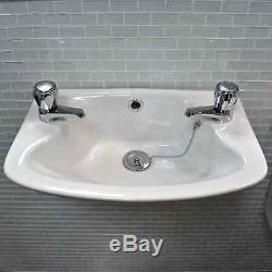 Hydros Wall Hung Suite, with Wall Hung Sink and Closed Coupled Toilet