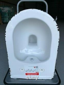 Idea 2.0 Rimless Wall Hung Combined Bidet Toilet With Soft Close Seat