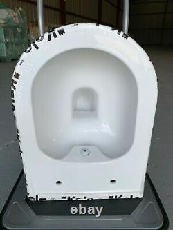 Idea 48 Smart Wall Hung Combined Bidet Toilet With Soft Close Seat